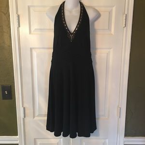 ⚡️SALE⚡️ Robbie Bee Women Black Dress Sz 10 oc11